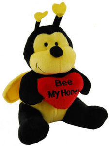 Elka 15cm Bee with Heart - Bee My Honey - Valentines Day - BNWT