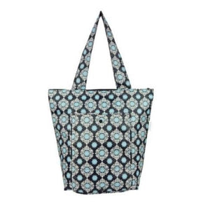 Sachi Insulated Market Tote - 40cm x 36cm - Black Medallion