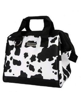 Sachi Insulated 34 Lunch Bag - COW PRINT