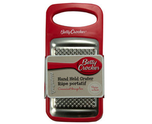Betty Crocker Small Hand Held Box Grater