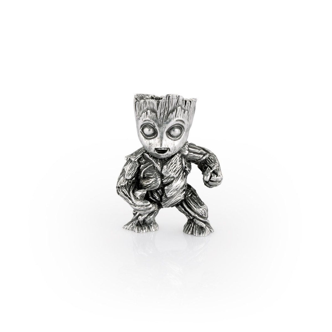 Marvel Pewter Mini Figurine Groot - by Royal Selangor - Guardians of the Galaxy