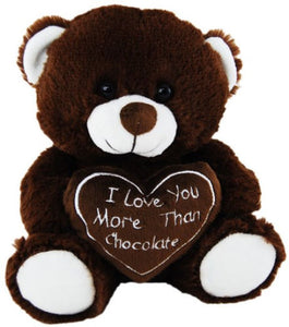 Elka Bear 20cm - I Love You More Than Chocolate - Valentines Day - BNWT