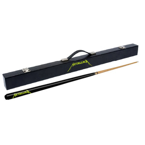 Licensed Metallica Pool Cue & Hard Case - Official Merchandise