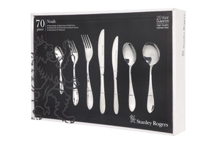 Stanley Rogers Noah 70 Piece Stainless Steel Cutlery Set