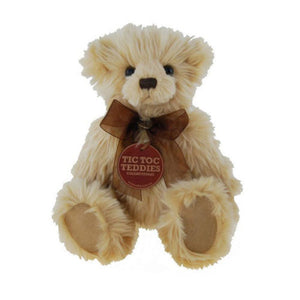 Tic Toc Teddies Collectable Bears - Pearson - 28cm - Numbered to 300 Limited Edition
