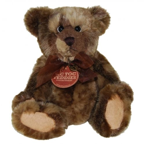 Tic Toc Teddies Collectable Bears - Peterson - 30cm - Numbered to 300 Limited Edition