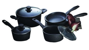 Stanley Rogers 5 Piece Quartz Advance Stone Cookware Set