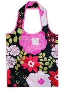 Sachi Reusable Shopping Bag - Floral Bloom - Fold up for Convenient Storage