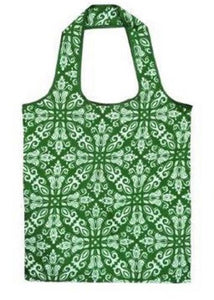 Sachi Reusable Shopping Bag - Green - Fold up for Convenient Storage