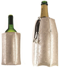 Load image into Gallery viewer, Vacu Vin Active Wine and Champagne Rapid Ice Cooler Set - Platinum