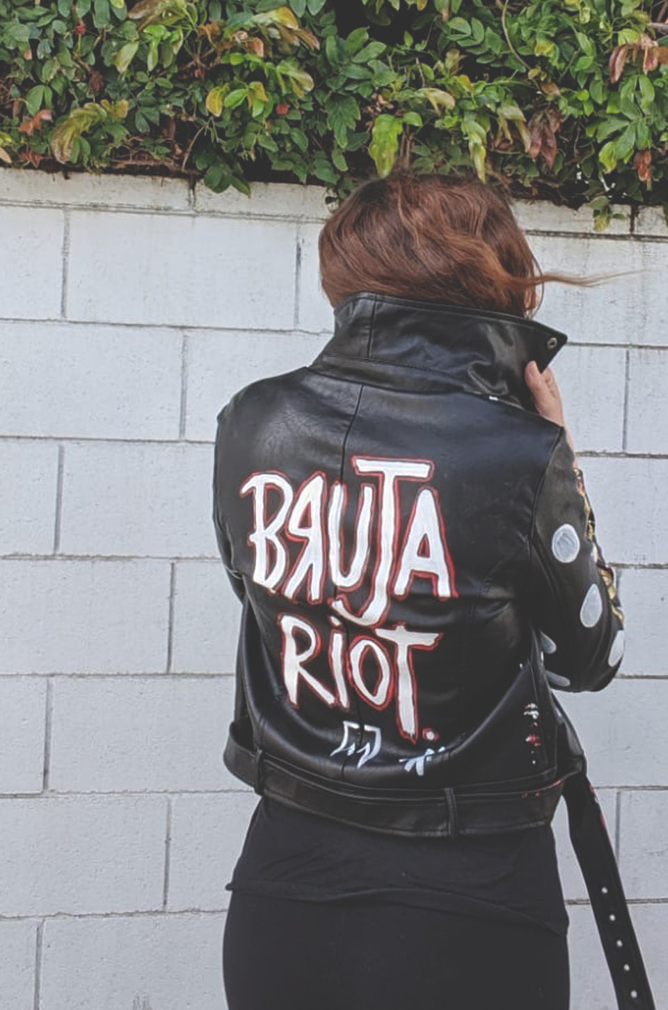 Bruja Riot Vegan Leather Jacket