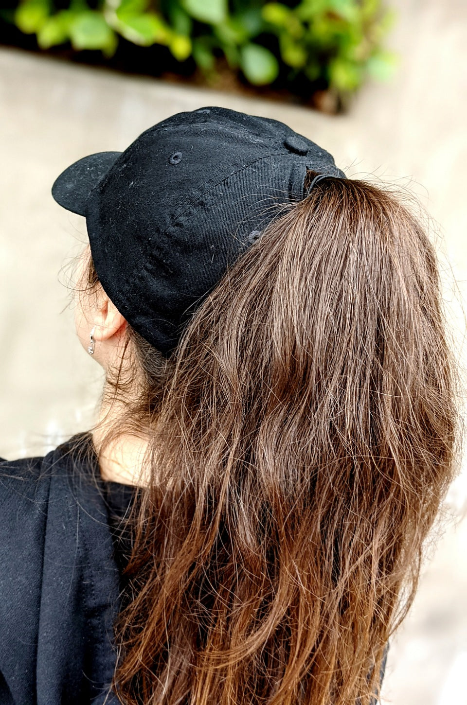 High Ponytail Hole Self Made Mujer Baseball Cap for women