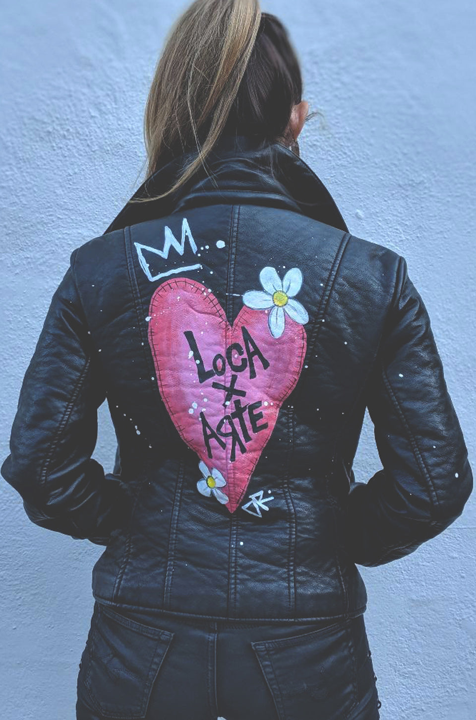 Loca X Arte Vegan Leather Jacket