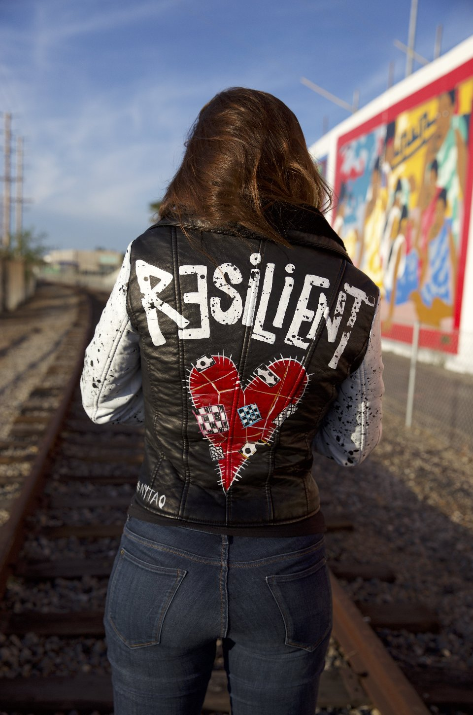 Resilient Vegan Leather Jacket