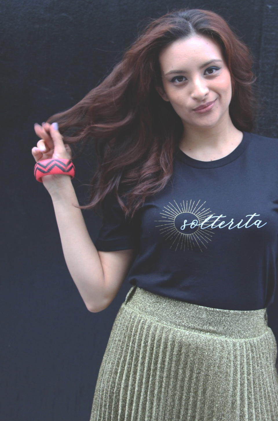 Solterita Semi Cropped T-Shirt