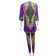 Load image into Gallery viewer, Dashiki Print Pant Suit