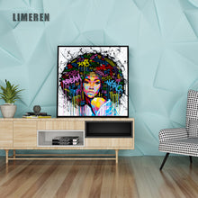 Load image into Gallery viewer, Abstract Modern African Women Canvas Painting