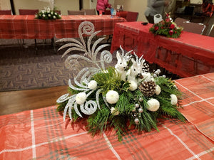 White deer wonderland Flower Arrangements, Flower, Florist, Print-a-Bunch Ottawa - Orleans Florist, Great for a Birthday and Anniversary