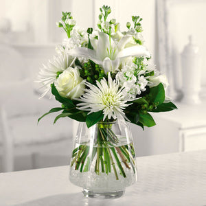 White Wonder - Starting from $54.99 Flower Arrangements, Flower, Florist, Print-a-Bunch Ottawa - Orleans Florist, Great for a Birthday and Anniversary