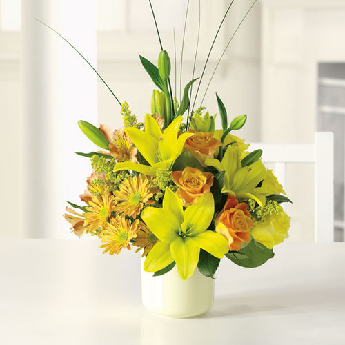 Sunshine Splendor - Starting from $65 Flower Arrangements, Flower, Florist, Print-a-Bunch Ottawa - Orleans Florist, Great for a Birthday and Anniversary