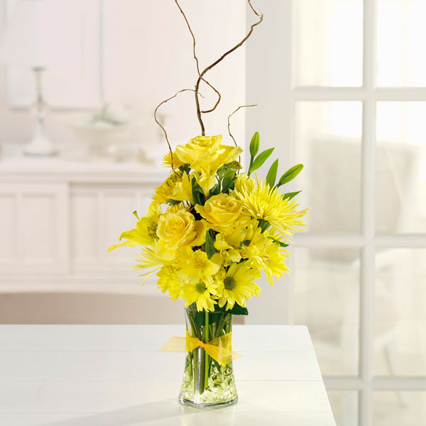 Sunshine Sparkle - Starting from $55 Flower Arrangements, Flower, Florist, Print-a-Bunch Ottawa - Orleans Florist, Great for a Birthday and Anniversary