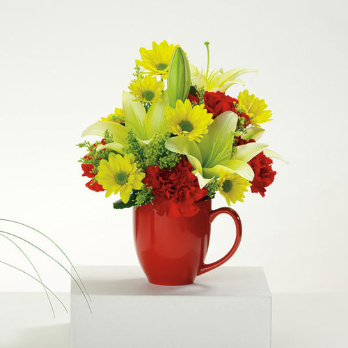 Good Morning Mug - from $24.99 Flower Arrangements, Flower, Florist, Print-a-Bunch Ottawa Florist,