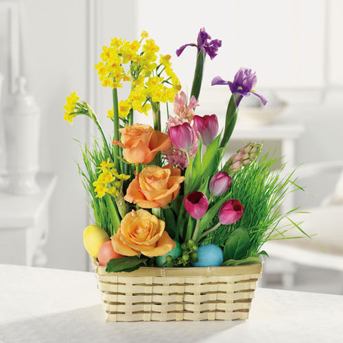 Egg Hunt Garden - Starting from $59.99 Flower Arrangements, Flower, Florist, Print-a-Bunch Ottawa Florist,