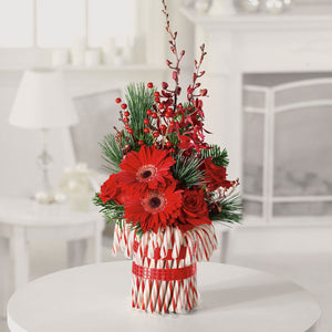Peppermint Pleasures - $125 Flower Arrangements, Flower, Florist, Print-a-Bunch Ottawa - Orleans Florist, Great for a Birthday and Anniversary