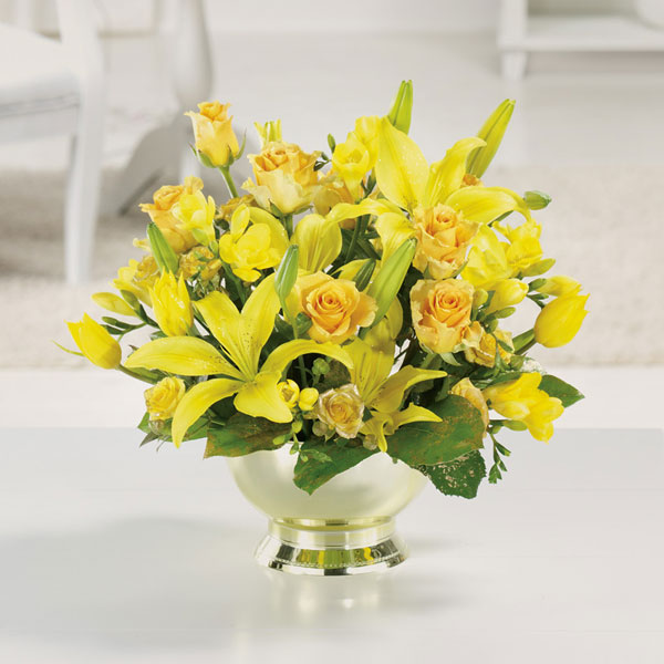 Golden Anniversary - Starting $75 Flower Arrangements, Flower, Florist, Print-a-Bunch Ottawa - Orleans Florist, Great for a Birthday and Anniversary