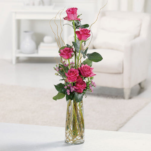 Heavenly Half-Dozen - From $50 Flower Arrangements, Flower, Florist, Print-a-Bunch Ottawa - Orleans Florist, Great for a Birthday and Anniversary