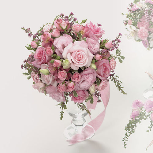 Pink Rose Bouquet - $104 Flower Arrangements, Flower, Florist, Print-a-Bunch Ottawa - Orleans Florist, Great for a Birthday and Anniversary
