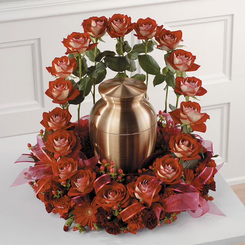 Red Rose Memorial Garden - Staring from $154.99 Flower Arrangements, Flower, Florist, Print-a-Bunch Ottawa - Orleans Florist, Great for a Birthday and Anniversary