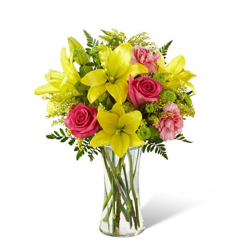 Yellow delight - Starting from $65 Flower Arrangements, Flower, Florist, Print-a-Bunch Ottawa - Orleans Florist, Great for a Birthday and Anniversary