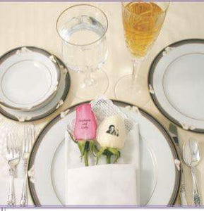 Placemat Rose