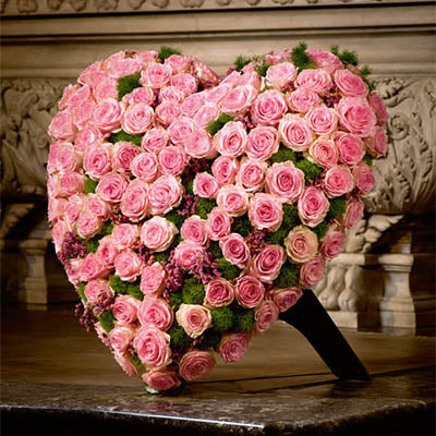 The Rosie Heart - Starting from $300 Flower Arrangements, Flower, Florist, Print-a-Bunch Ottawa - Orleans Florist, Great for a Birthday and Anniversary