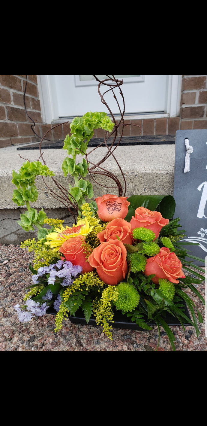 Sunny Days - business Flower Arrangements, Flower, Florist, Print-a-Bunch Ottawa - Orleans Florist, Great for a Birthday and Anniversary