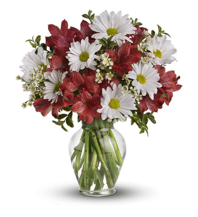 Upsy Daisy's - Starting frm $46 Flower Arrangements, Flower, Florist, Print-a-Bunch Ottawa - Orleans Florist, Great for a Birthday and Anniversary