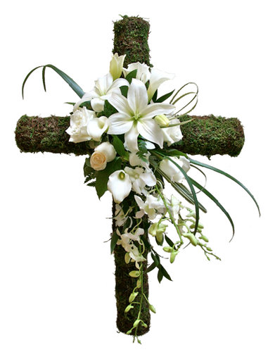 Nature's Cross - Starting from $160 Flower Arrangements, Flower, Florist, Print-a-Bunch Ottawa - Orleans Florist, Great for a Birthday and Anniversary