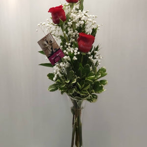 Triple Pleasures - $39.99 Flower Arrangements, Flower, Florist, Print-a-Bunch Ottawa - Orleans Florist, Great for a Birthday and Anniversary