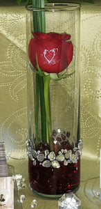 One Stunning Stem - $29.99 Rose in a vase, Flower, Florist, Print-a-Bunch Ottawa Florist,