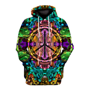 Hippie style All over print