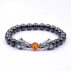 Buddha Bracelet Men Bracelets For Women Pulseira Masculina Mens Jewelry Dragon Bileklik Pulseira 8mm Stone Beads Elastic Braslet