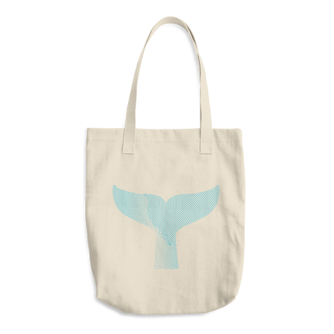 Gray Whale Market Tote Bag