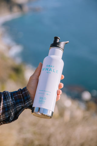 Gray Whale Gin  x Klean Kanteen Insulated Bottle