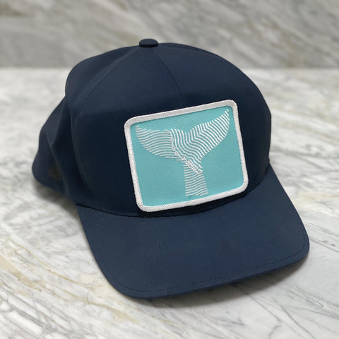Gray Whale Gin Golf Hat with Patch
