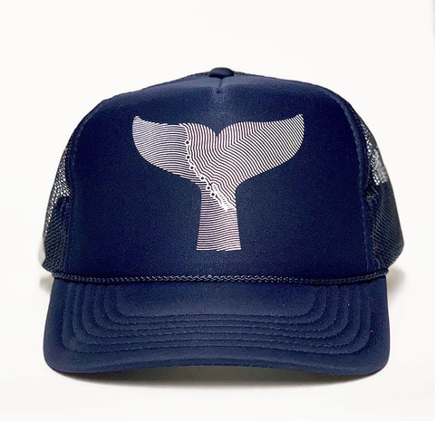 Gray Whale Trucker hat