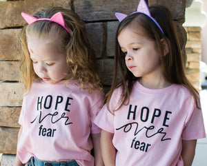 Hope over Fear : Toddler Tee