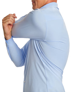 Light Blue | Performance Fabric Dress Shirt