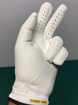 Gold Pineapple Golf Glove