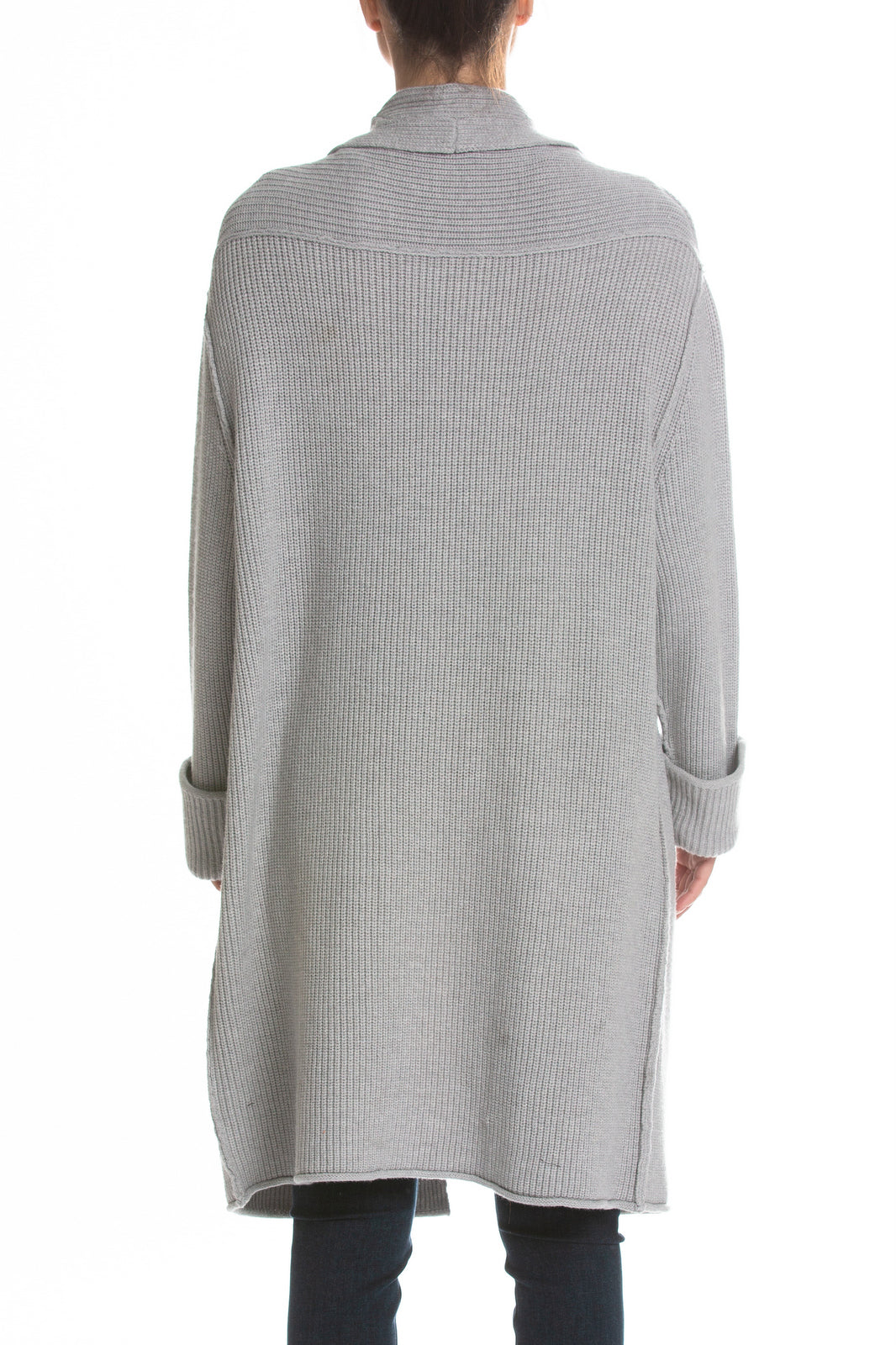Elan Long Sweater Pebble Color